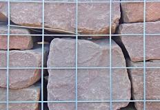 Cropped & Tumbled Plum Walling Stone